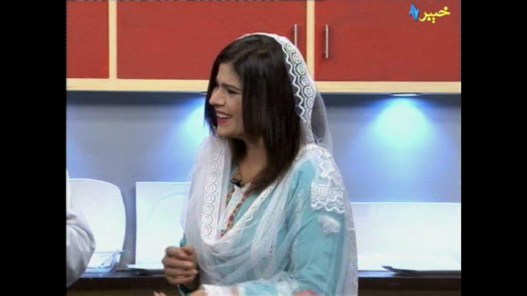 Da Jawand Shama Cooking Show   Pashto tv   Khyber tv   Avt Khyber Official