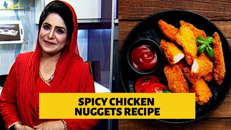 Spicy Chicken Nuggets Recipe in Pashto | Easy Chicken Nuggets Recipe | Da Dalda Khawanduna Cooking